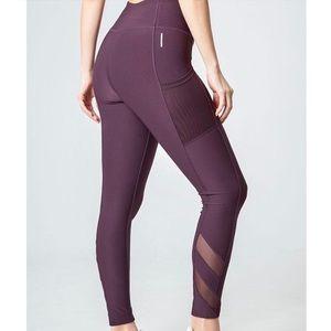 Mondetta - High Waisted Active Leggings - Purple